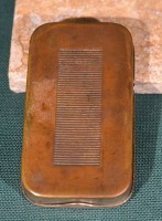 B L James M & M Co postage stamps safe 2