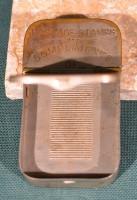 B L James M & M Co postage stamps safe 3