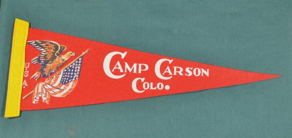 Camp Carson Colo penant 1