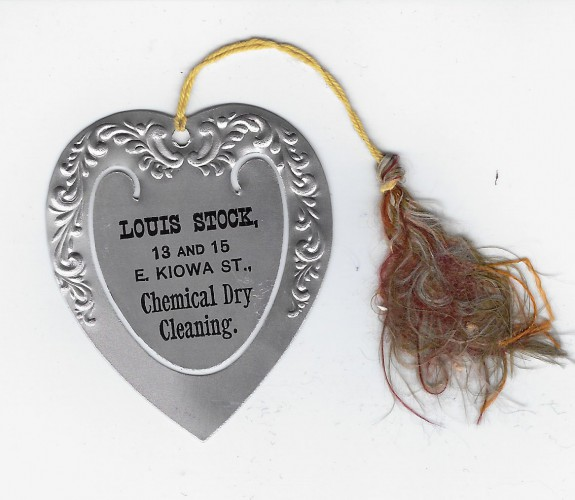 Louis Stock Chemical Dry Cleaning Co Sprgs bookmarker 1