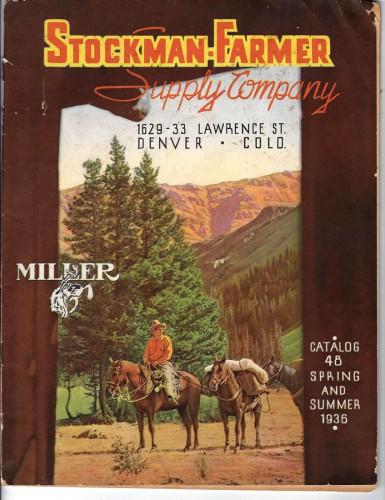 Stockman Farmer Supply Co catalogue 1936 a