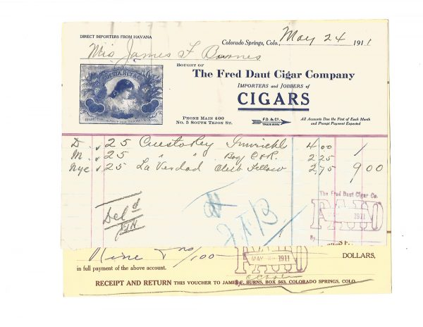 fred-daut-cigar-co-billhead-for-james-f-burns-colorado-springs-1911v1