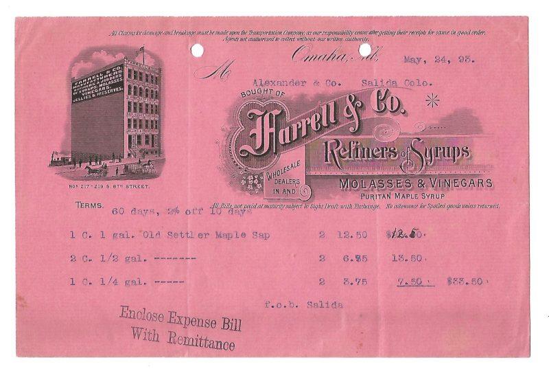 harrell-co-refiners-of-syrups-billhead-omaha-nebraska-1893