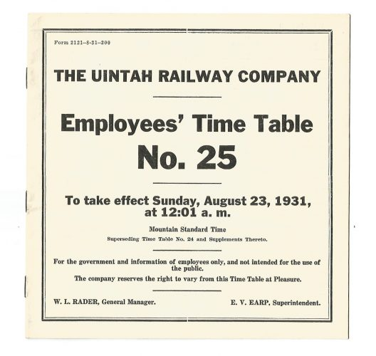 the-uintah-railway-company-employee-time-table-no-25-1931