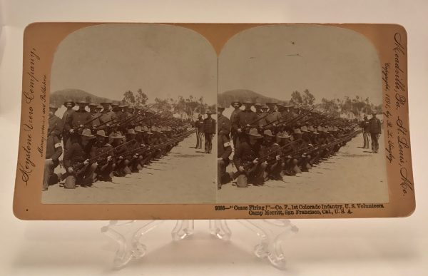 Cease Fire Colorado 1st Infantry Keystone View Company 2