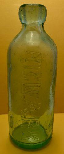 Clark Magnetic Pueblo Colorado Bottle 1887-1888 2