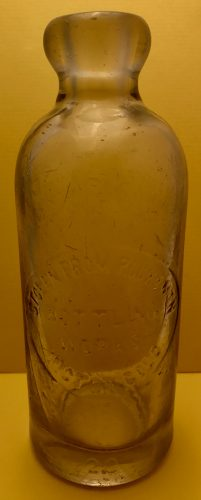 Rocky Mountain Bottling Works Victor Colorado Soda Bottle 1899-1900