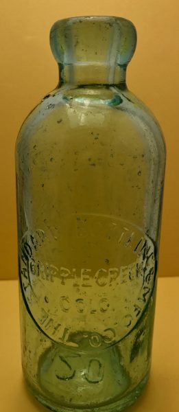The Standard Bottling & Manufacturing Company Cripple Creek Bottle 1898