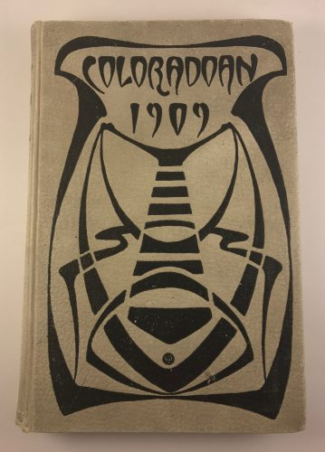 Coloradoan 1909 University of Colorado Yearbook Hardback Vol X