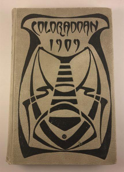 Coloradoan 1909 University of Colorado Yearbook Hardback Vol X