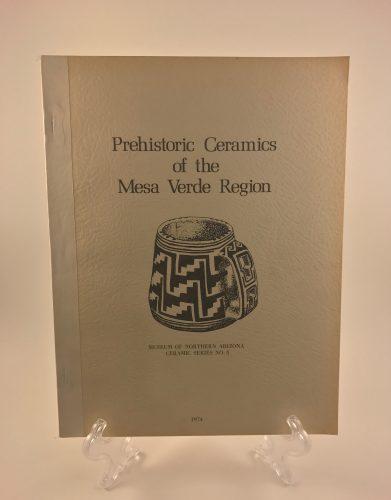 Prehistoric Ceramics of the Mesa Verde Region Paperback Book 1974