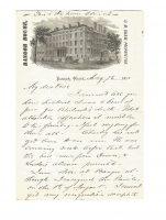 Bangor House Letters Bangor Maine 1871 Structural Vignette 2