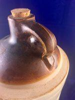 W.A. Hover & CO Wholesale Druggist Denver Colorado Whiskey Pottery Jug ca.1910 3
