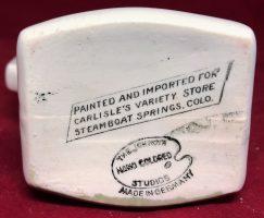 The Jonroth Studios Germany Souvenir Ceramic Creamer Steamboat Springs Colorado (2)
