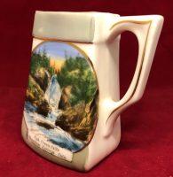 The Jonroth Studios Germany Souvenir Ceramic Creamer Steamboat Springs Colorado (5)