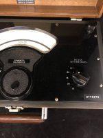Dynamometer Voltmeter Model D Sensitive Research Instrument Corp 1962 (7)