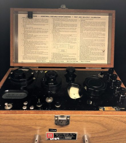 Honeywell Portable Potentiometer Model 2730 Vintage Rubicon Scientific Instrument (10)