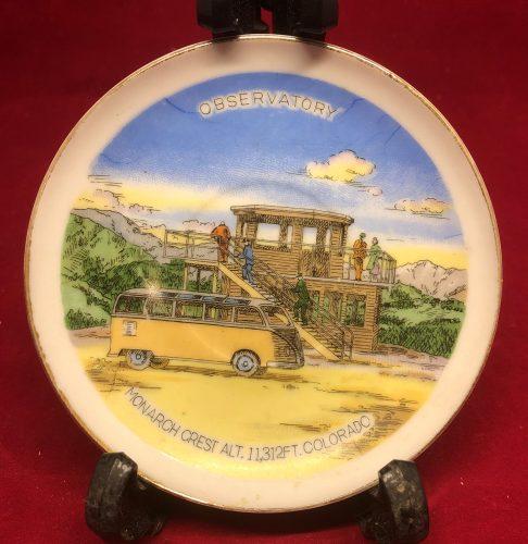 Monarch Crest Colorado Observatory Souvenir Plate (1)